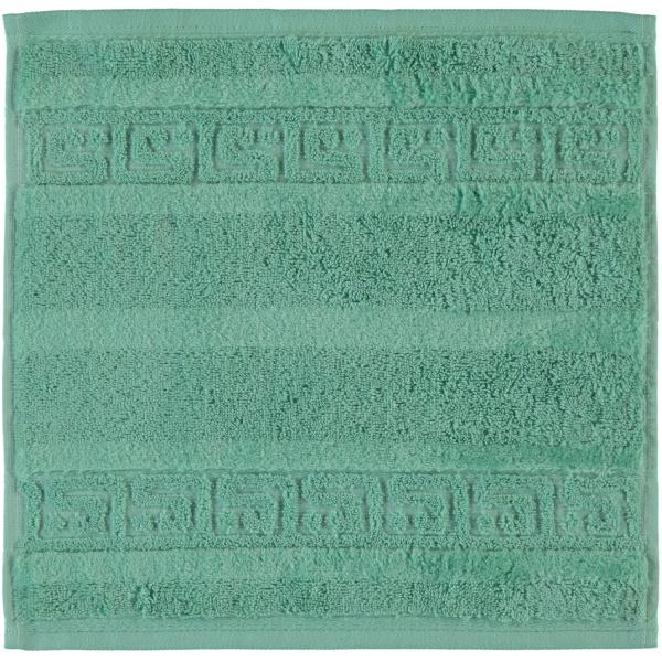 Cawö - Noblesse Uni 1001 - Farbe: 474 - agavegrün Seiflappen 30x30 cm