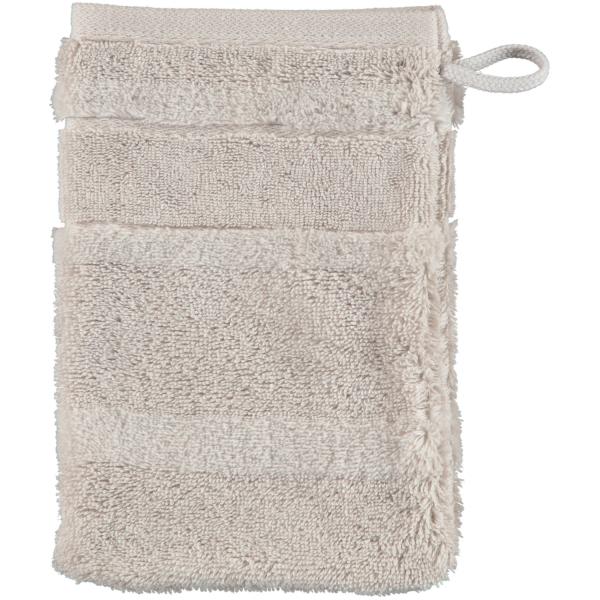 Cawö - Noblesse2 1002 - Farbe: 775 - silber Waschhandschuh 16x22 cm