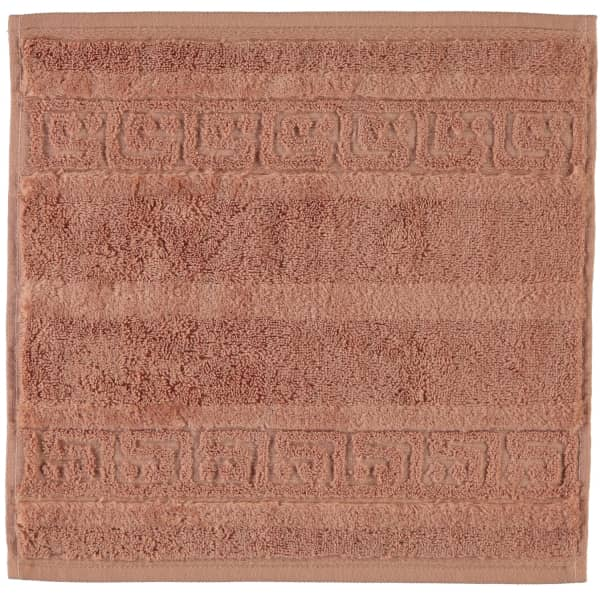 Cawö - Noblesse Uni 1001 - Farbe: 369 - zimt Seiflappen 30x30 cm