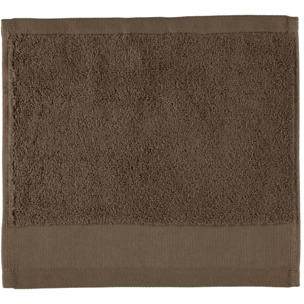 Rhomtuft - Handtücher Comtesse - Farbe: taupe - 58 Seiflappen 30x30 cm