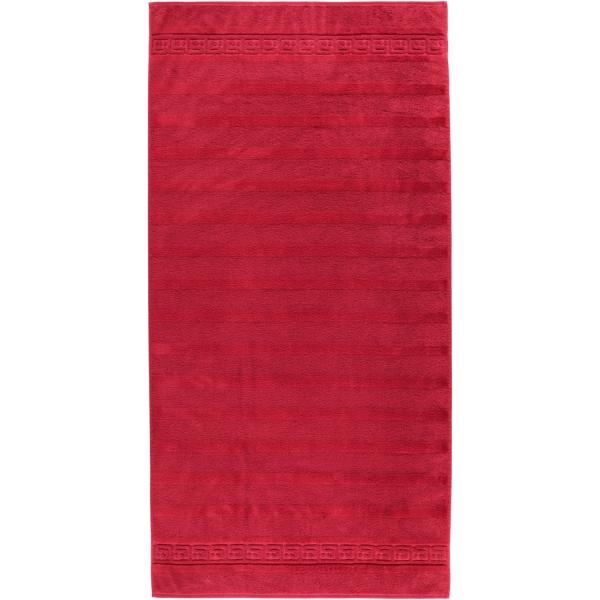 Cawö - Noblesse Uni 1001 - Farbe: 280 - bordeaux Duschtuch 80x160 cm