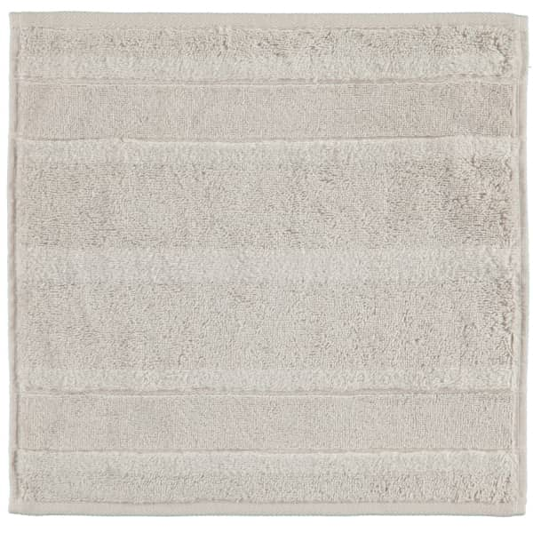 Cawö - Noblesse2 1002 - Farbe: 775 - silber Seiflappen 30x30 cm