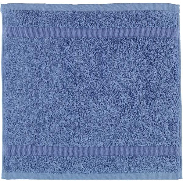 Rhomtuft - Handtücher Princess - Farbe: aqua - 78 Seiflappen 30x30 cm