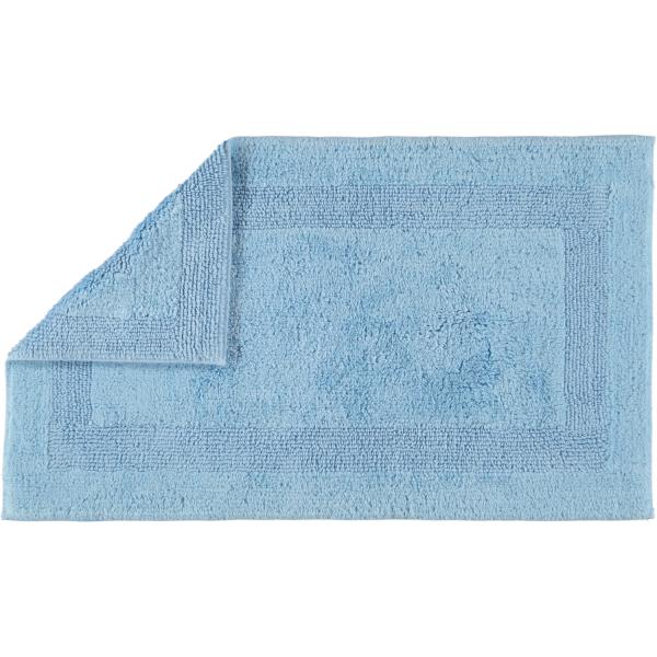 Cawö Home - Badteppich 1000 - Farbe: mittelblau - 188 60x100 cm