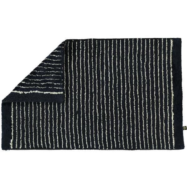 Rhomtuft - Badteppich Lin - Farbe: schwarz-natur - 1160 50x75 cm