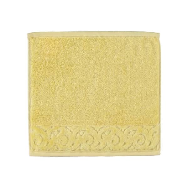 Vossen Paris Supersoft - Farbe: 130 - citro Seiflappen 30x30 cm