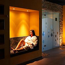 Sauna-Bademantel