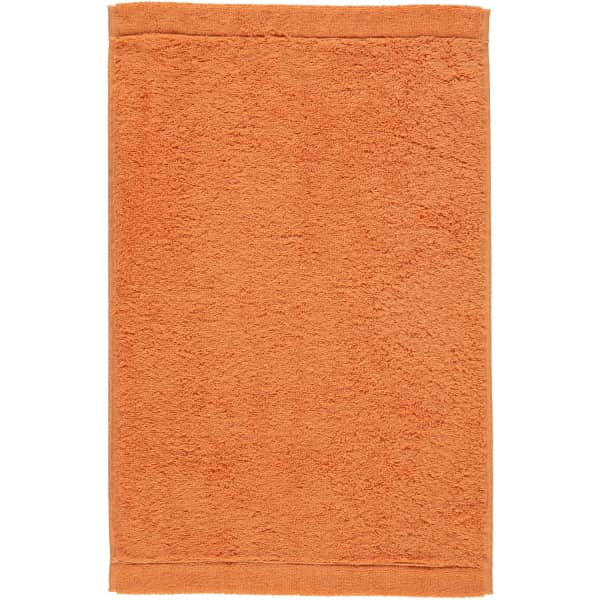 Cawö - Life Style Uni 7007 - Farbe: mandarine - 316 Gästetuch 30x50 cm