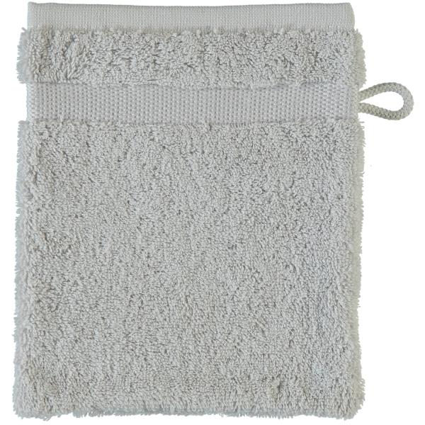 Rhomtuft - Handtücher Princess - Farbe: perlgrau - 11 Waschhandschuh 16x22 cm