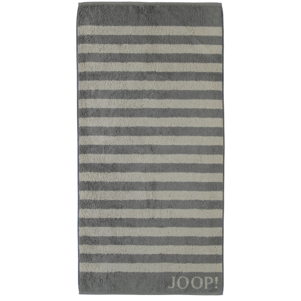 JOOP! Classic - Stripes 1610 - Farbe: Graphit - 70 Duschtuch 80x150 cm