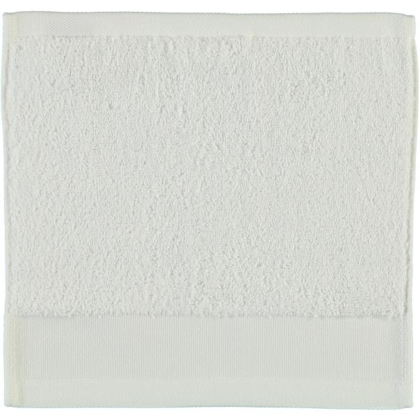 Rhomtuft - Handtücher Comtesse - Farbe: weiss - 01 Seiflappen 30x30 cm