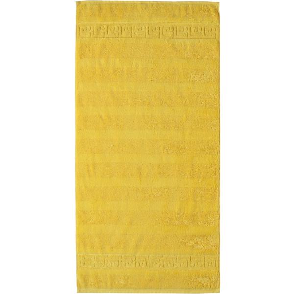Cawö - Noblesse Uni 1001 - Farbe: 521 - gelb Handtuch 50x100 cm