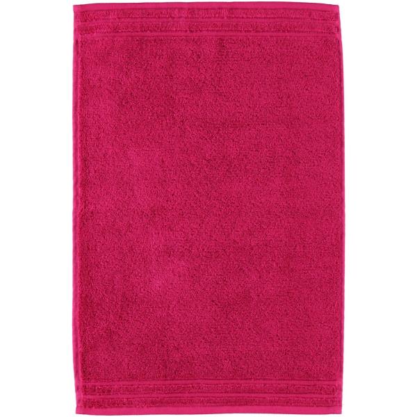 Vossen Calypso Feeling - Farbe: 377 - cranberry Gästetuch 30x50 cm