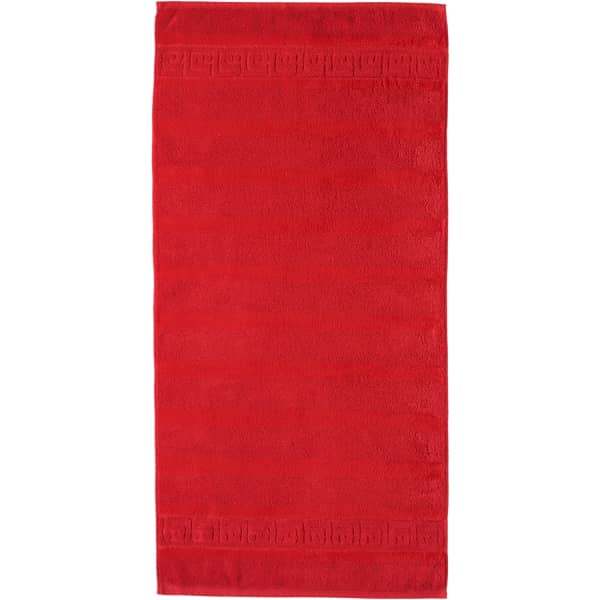 Cawö - Noblesse Uni 1001 - Farbe: 203 - rot Duschtuch 80x160 cm