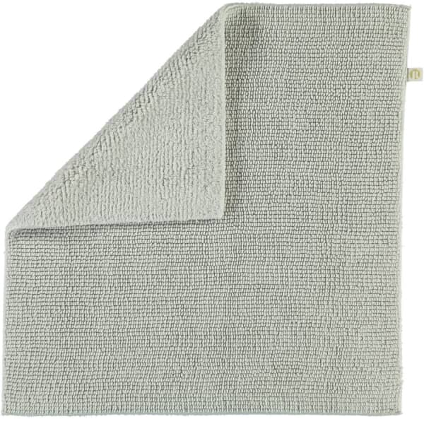 Rhomtuft - Badteppich Pur - Farbe: perlgrau - 11 60x60 cm