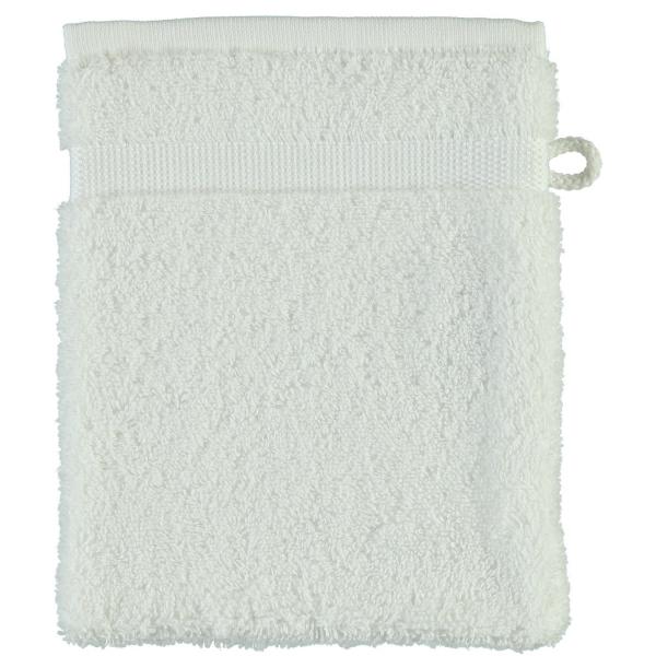 Rhomtuft - Handtücher Princess - Farbe: weiss - 01 Waschhandschuh 16x22 cm