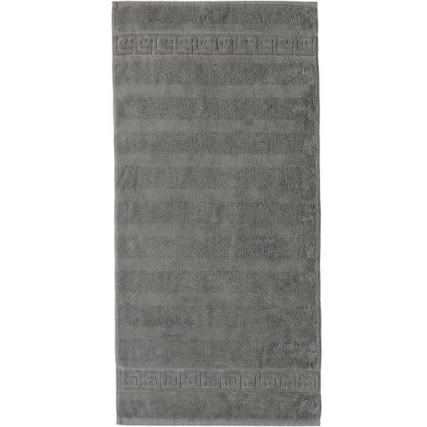 Cawö - Noblesse Uni 1001 - Farbe: 779 - graphit Handtuch 60x110 cm