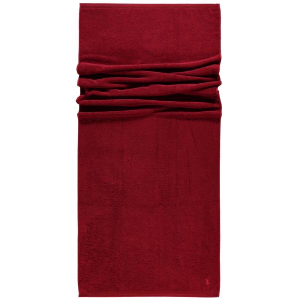 Möve - Superwuschel - Farbe: rubin - 075 (0-1725/8775) Saunatuch 80x200 cm