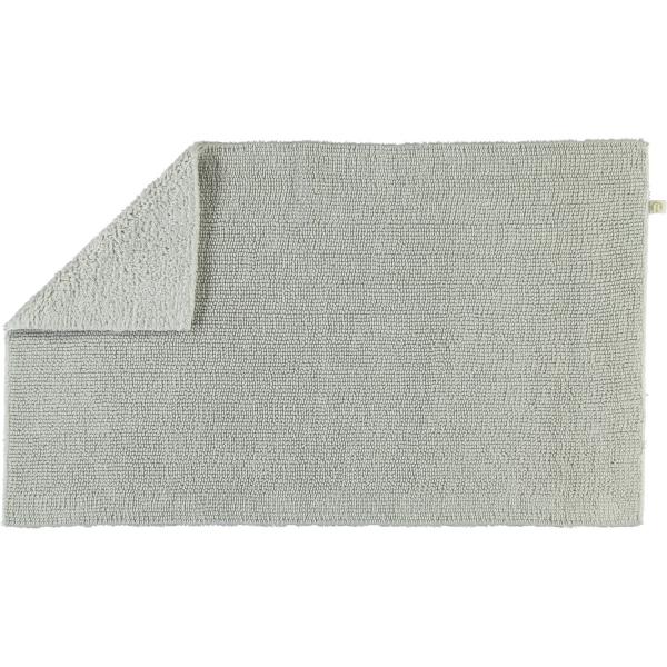 Rhomtuft - Badteppich Pur - Farbe: perlgrau - 11 70x130 cm