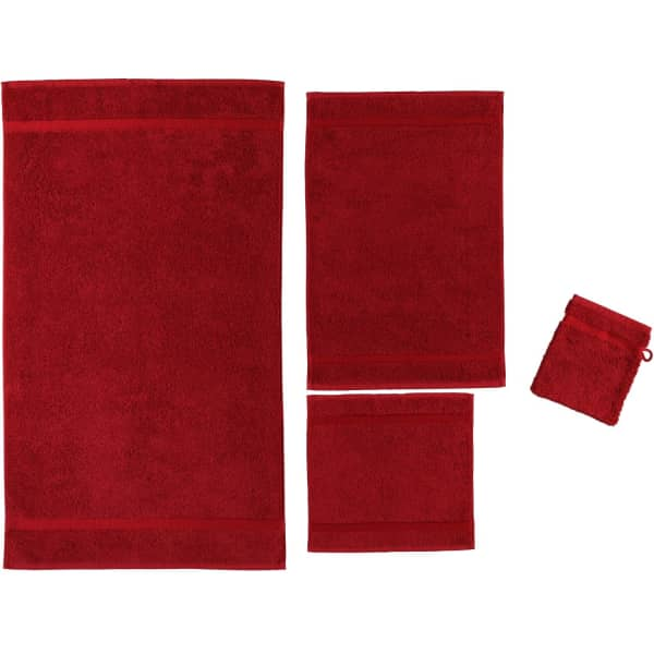 Rhomtuft - Handtücher Princess - Farbe: cardinal - 349