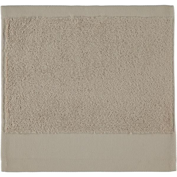 Rhomtuft - Handtücher Comtesse - Farbe: stone - 320 Seiflappen 30x30 cm