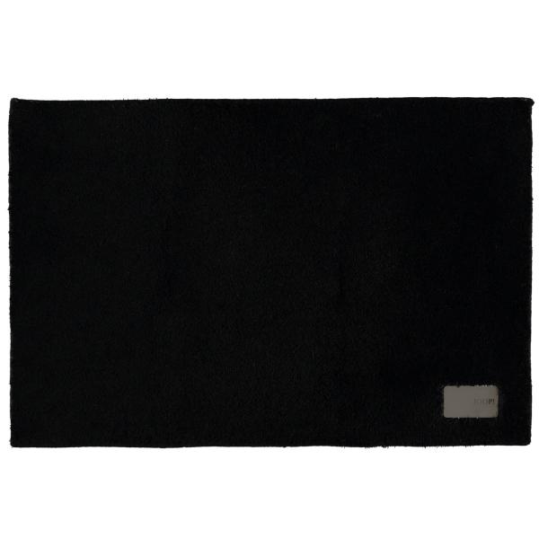 JOOP! - Badteppich Luxury 152 - Farbe: schwarz - 015 60x90 cm