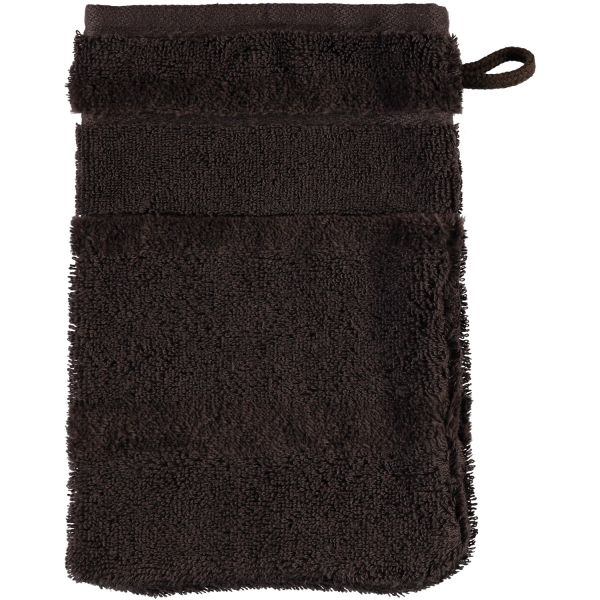 Cawö - Noblesse2 1002 - Farbe: 376 - mocca Waschhandschuh 16x22 cm