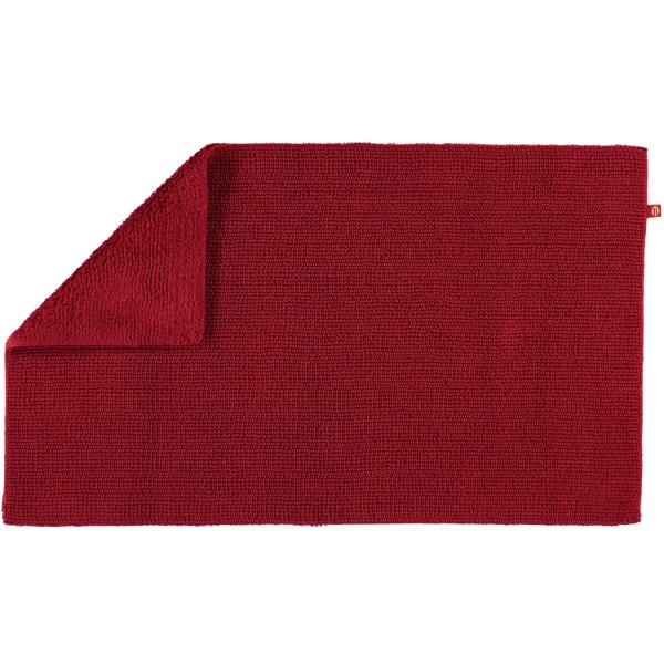 Rhomtuft - Badteppich Pur - Farbe: cardinal - 349 70x130 cm