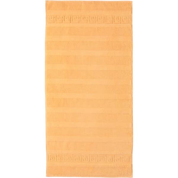 Cawö - Noblesse Uni 1001 - Farbe: melba - 315 Handtuch 50x100 cm