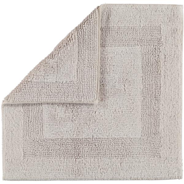 Cawö Home - Badteppich 1000 - Farbe: silber - 775 60x60 cm