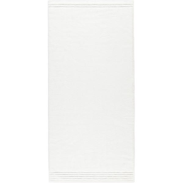 Vossen Vienna Style Supersoft - Farbe: weiß - 030 Duschtuch 67x140 cm