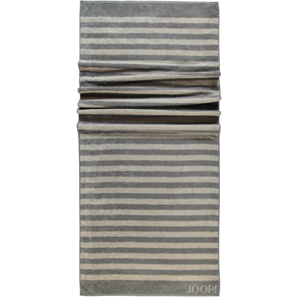 JOOP! Classic - Stripes 1610 - Farbe: Graphit - 70 Saunatuch 80x200 cm