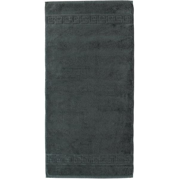 Cawö - Noblesse Uni 1001 - Farbe: 774 - anthrazit Handtuch 60x110 cm